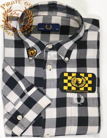 Fred Perry squared shirt