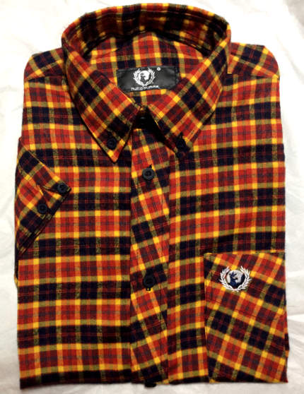 c1040a4ecc6 Hawk Skinhead Plaid Shirt