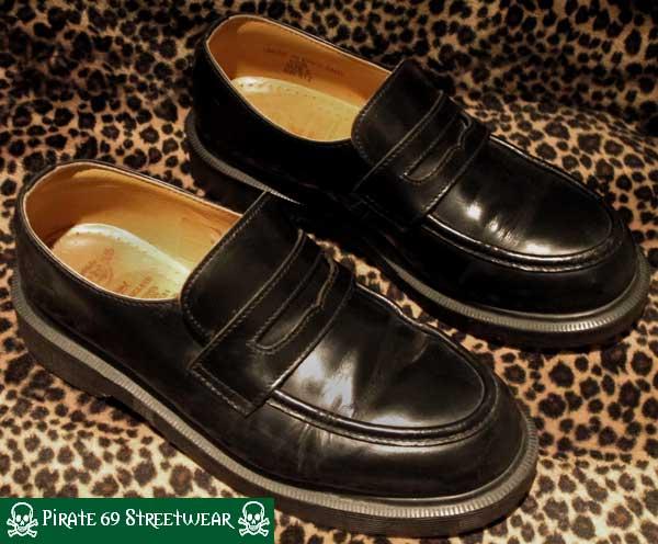 Grinders New Regent Shoes Black Leather