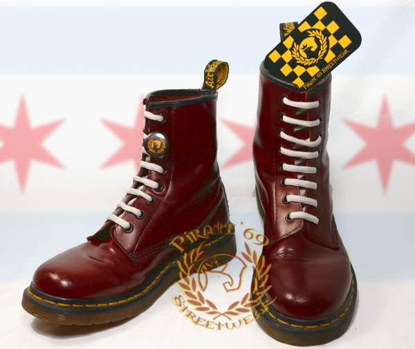 Skingirl Dr Martens 1460 cherry red boots