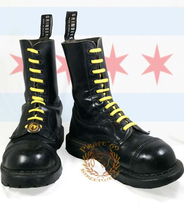 Grinders skinhead boots