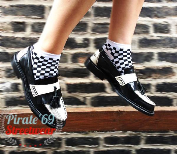 Mod / Rude / Skinhead women ska checkered socks