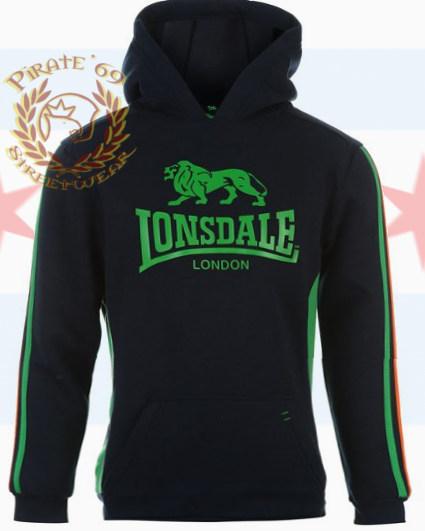 Hooligan/Skin Ladies Lonsdale Hoodie