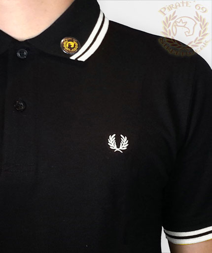 New M3600 Slim Fit Twin Tipped Fred Perry polo shirt 4e4faf409d1f