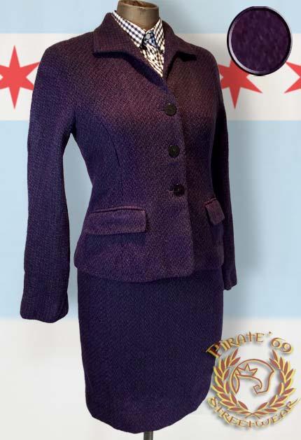 Wool Mod Skingirl Suit