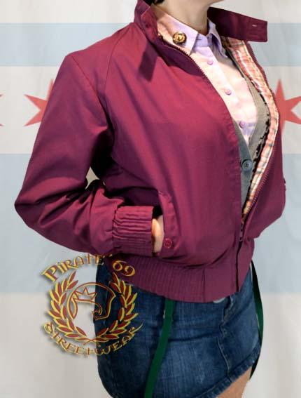 Skinbyrd Harrington Jacket with Tartan Lining