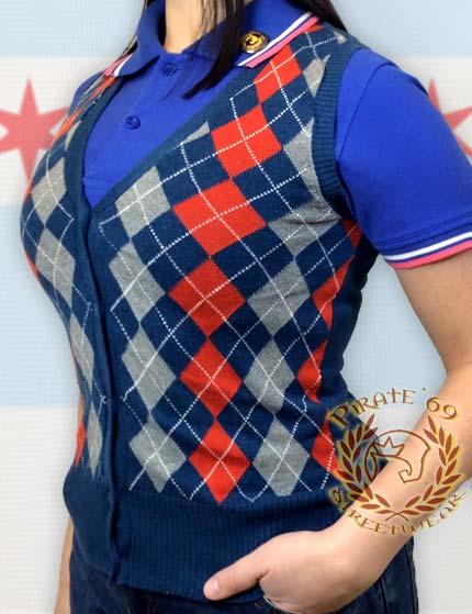 Skingirl Cardigan Vest