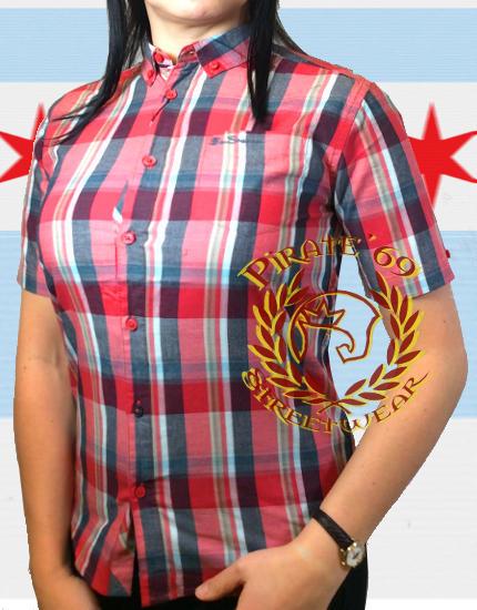 SkinByrd Mod Women Ben Sherman plaid shirt
